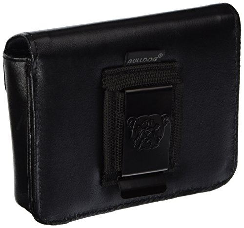 Bulldog-Cases-Black-Vinyl-Ambi-Cell-Phone-Holster-with-Belt-Loop-and-Clip-0-0