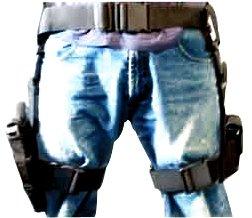 NcStar-3-pc-Drop-Leg-Gun-Holster-W-3-Magazine-Pouches-Pistol-Pouch-TacticalAirsoft-0