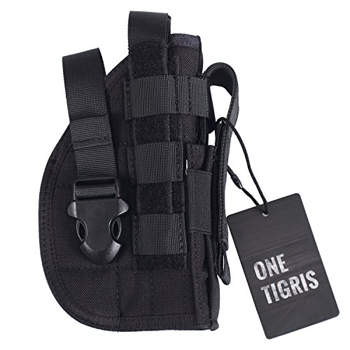 OneTigris-Tactical-Molle-Modular-Pistol-Holster-with-Mag-Pouch-for-Right-Handed-Shooters-1911-45-92-96-Glock-0-1