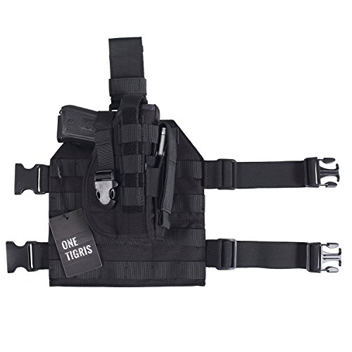 OneTigris-Tactical-Molle-Modular-Pistol-Holster-with-Mag-Pouch-for-Right-Handed-Shooters-1911-45-92-96-Glock-0-5