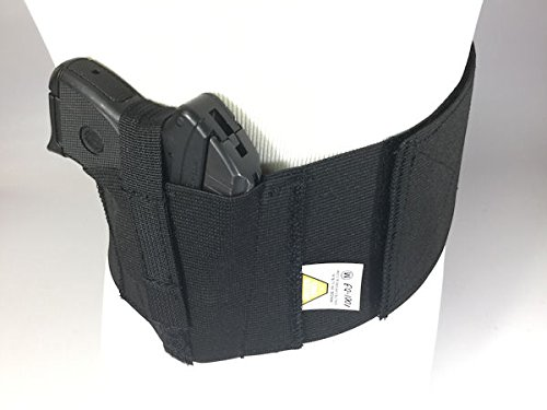 Safestcarry-Belly-Band-Holster-Concealed-Carry-Gun-Holster-and-Mag-Holster-for-Hips-Waist-or-Chest-Black-0-1
